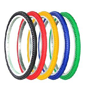 pneu airless couleur